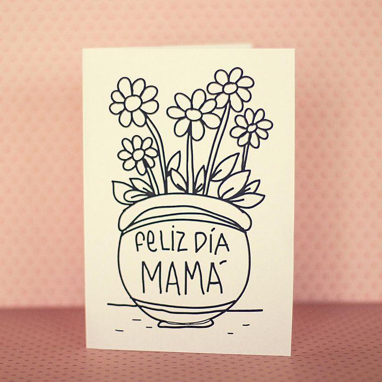 5 Tarjetas para el día de la madre