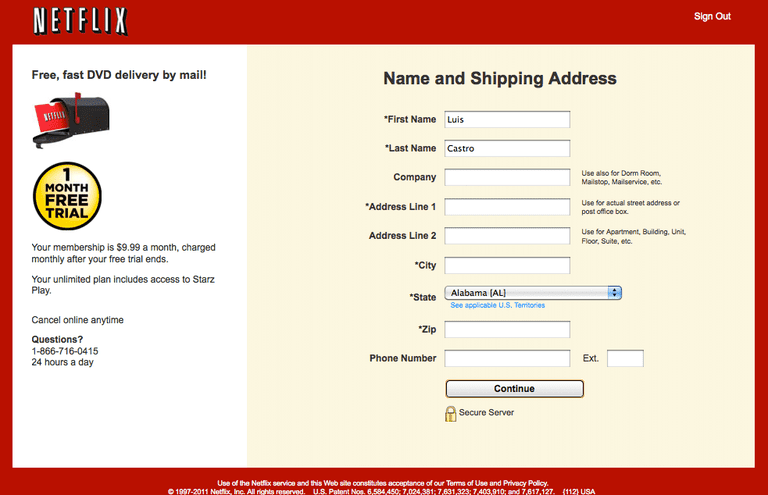 Pasos para abrir una cuenta de Netflix