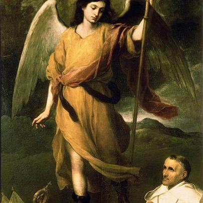 San Rafael Arcángel por Bartolomé Esteban Murillo