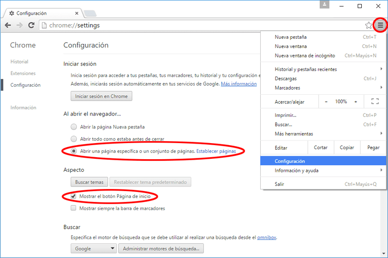 Google-Pagina-Inicio-Chrome-Firefox