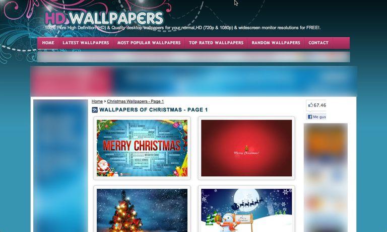 83850dce17546 7 páginas con fondos de pantalla de navidad