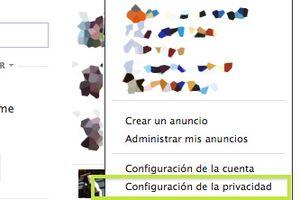 Configuración de la privacidad