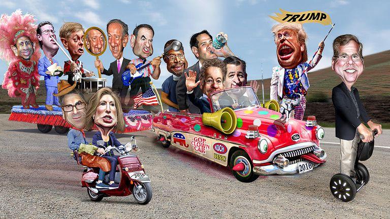 Cabdidatos a la presidencia