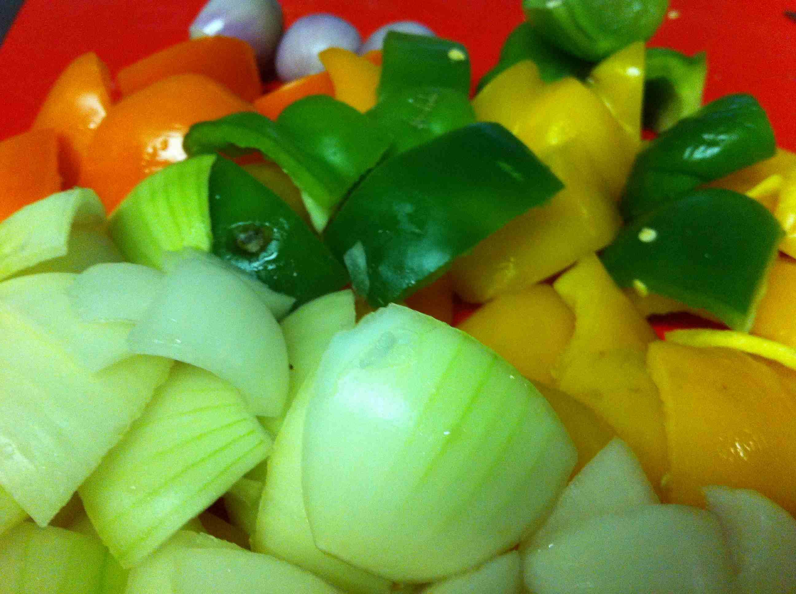 Prepare los vegetales