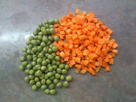 cortar zanahora