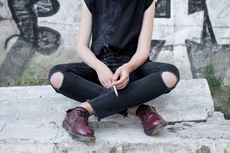 fumando en la adolescencia