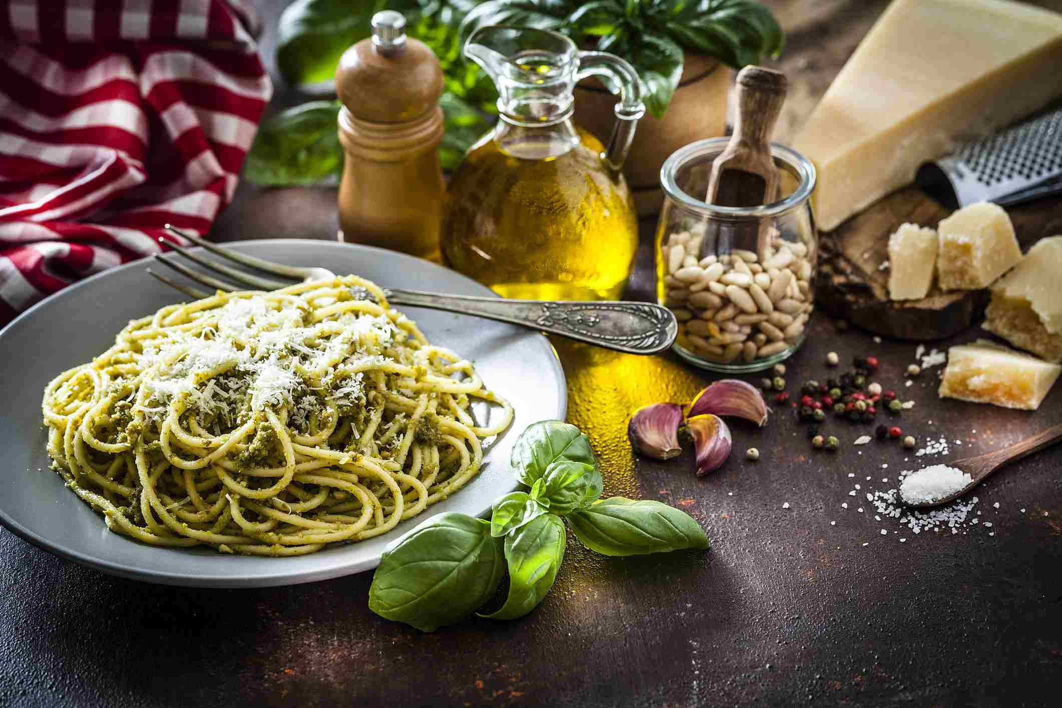Plato de pasta