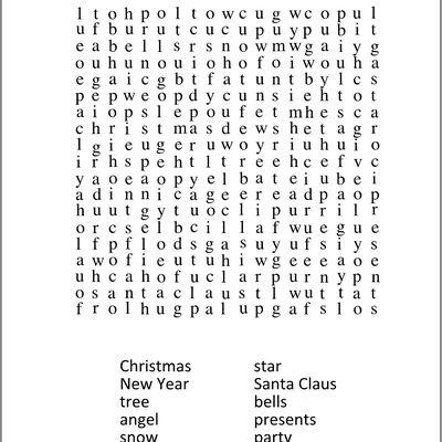 Vocabulario navideño en ingles traducidas al español