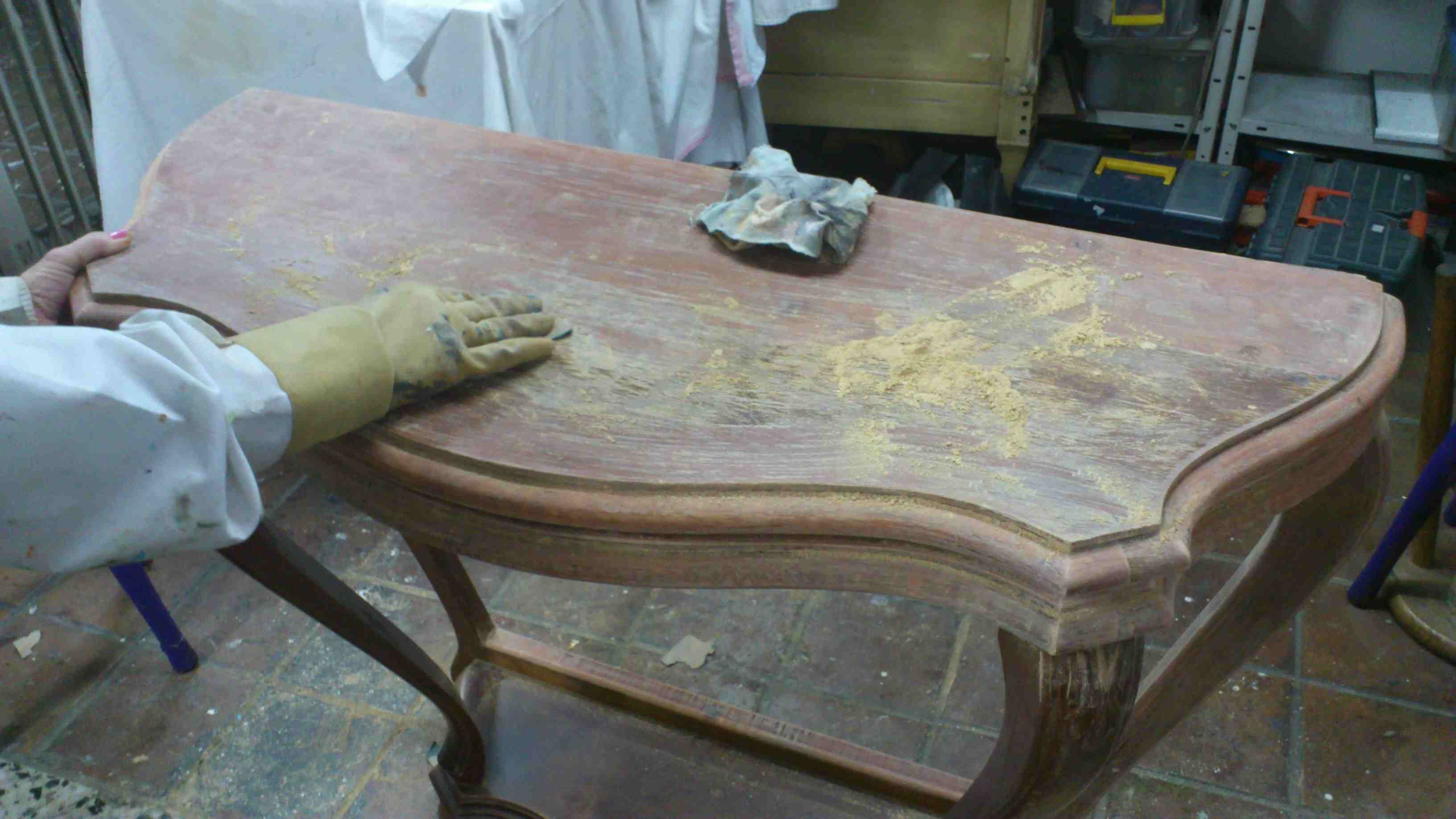Lijar mueble de madera