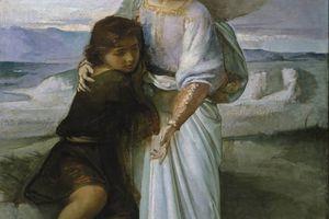 Tobías y el ángel por Eduardo Rosales Gallinas