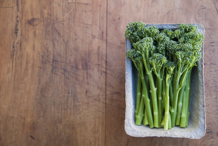 El brocolini o brocoli bimi está considerado un superalimento