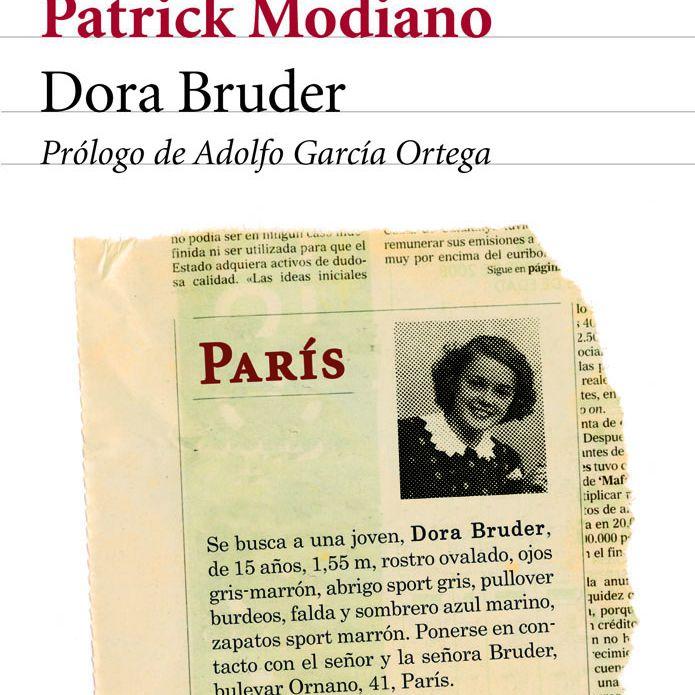 dora bruder de Patrick Modiano