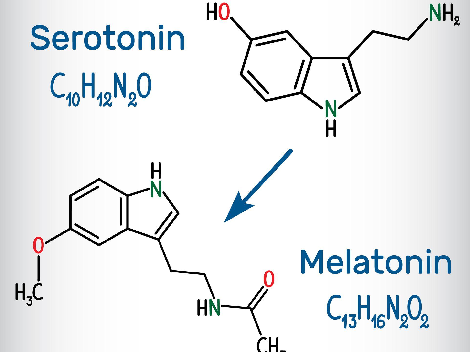 qué causa la falta de serotonina