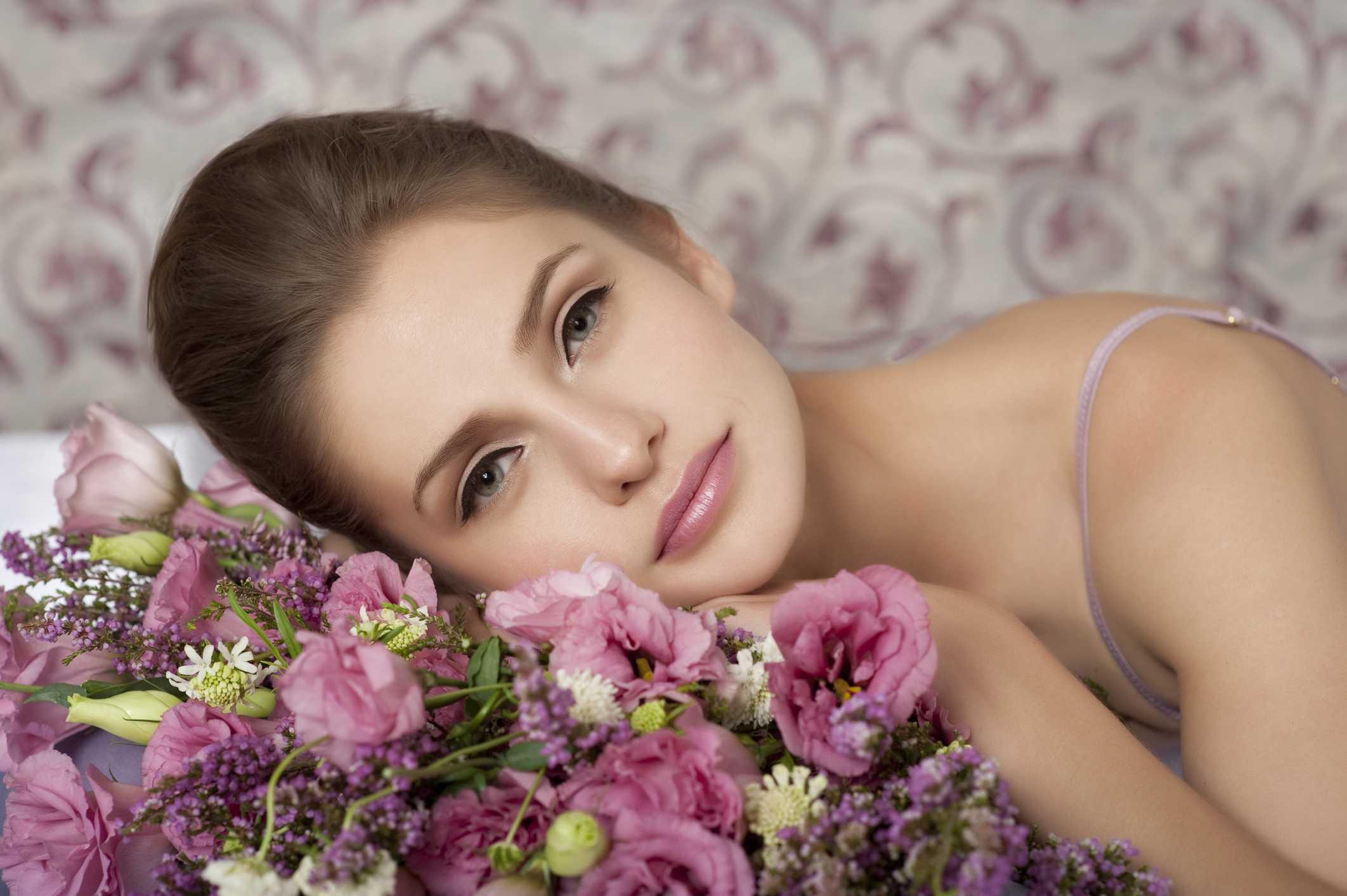Maquillaje natural y piel hidratada