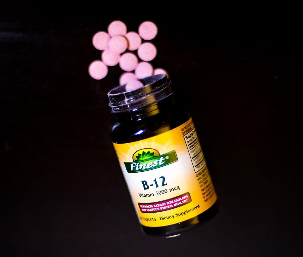 Suplemento de Vitamina B12 en dieta vegetarian