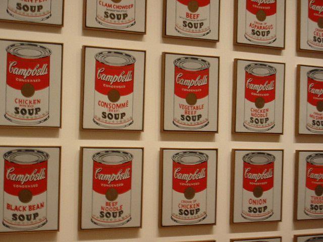 Pinturas famosas Warhol