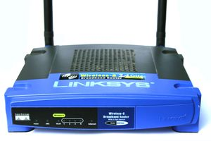WRT54G Linksys router