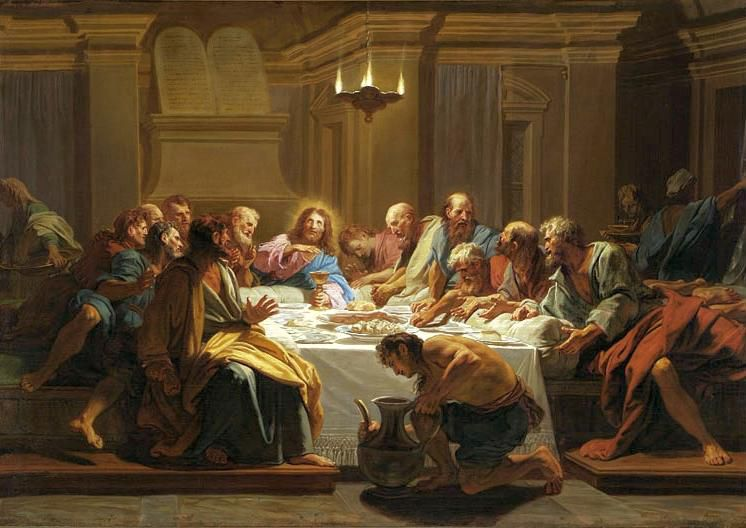 Jouvenet Last Supper