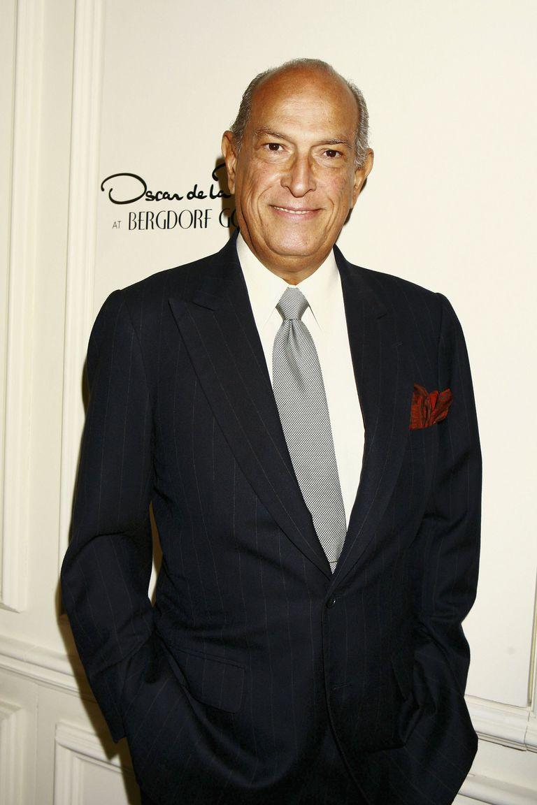 Oscar de la Renta, diseñador de fabulosos vestidos de novia.