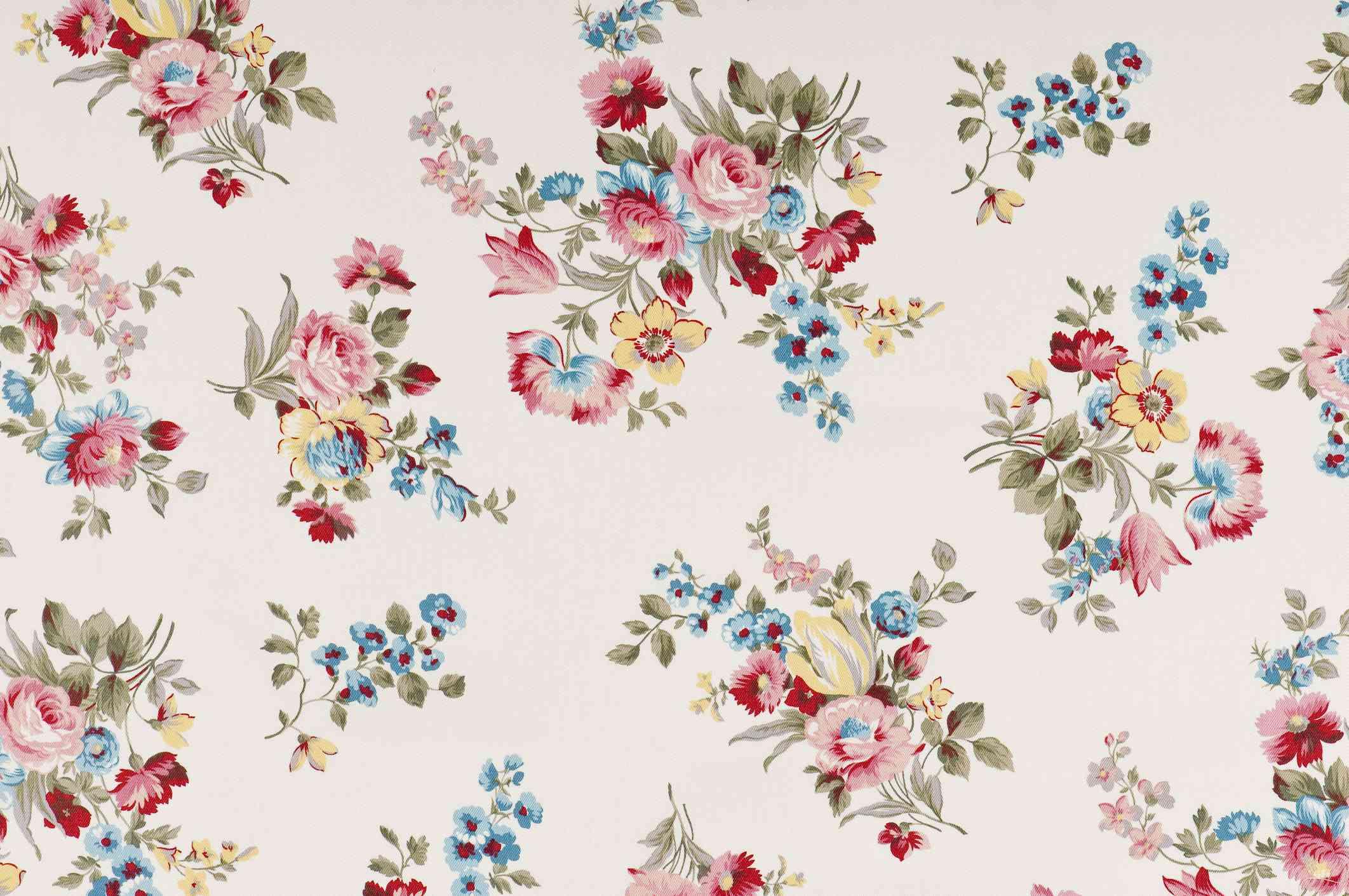 Farleigh Floral Medium Antique Fabric