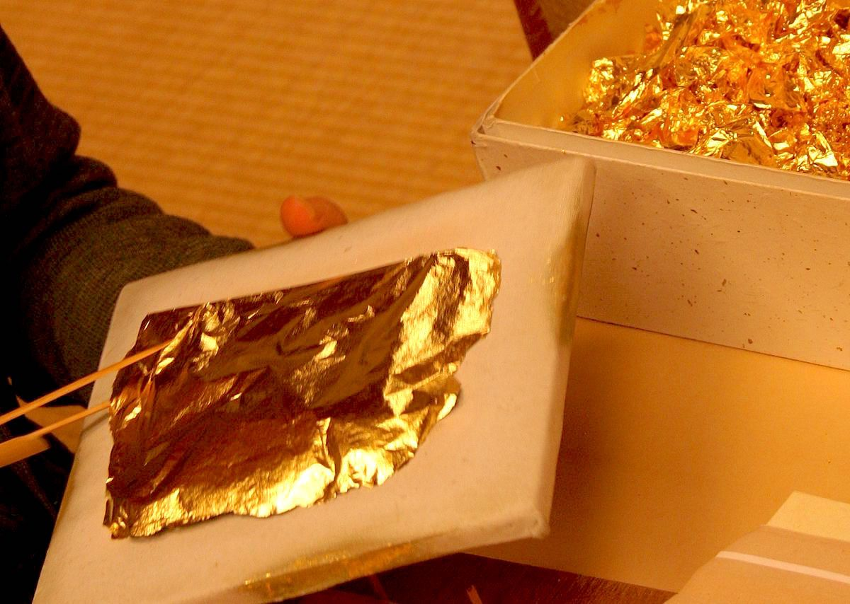 Lámina de Pan de oro