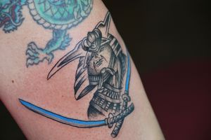 Tatuaje de Samurái