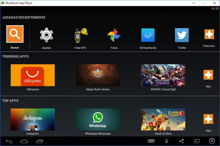 descargar emulador juegos android para pc
