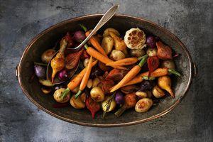 vegetales rostizados