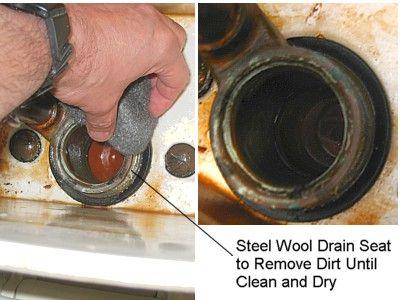 La preparación adecuada del asiento de las válvulas es esencial para lograr un sellado correcto
