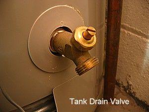 Válvula de desagüe del tanque