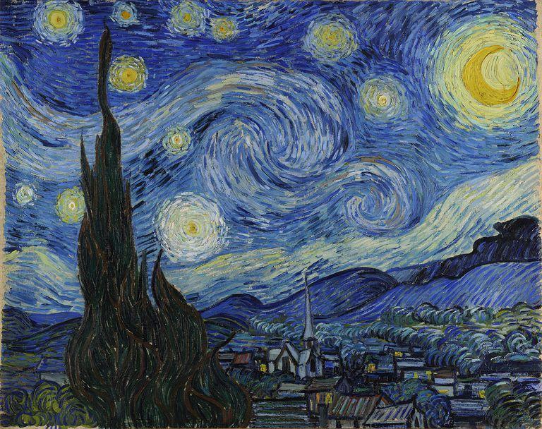 Vincent van Gogh, La noche estrellada