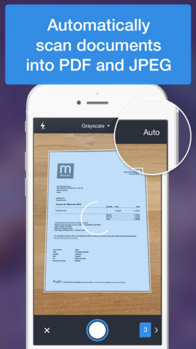 5 mejores aplicaciones scanner para iPhone