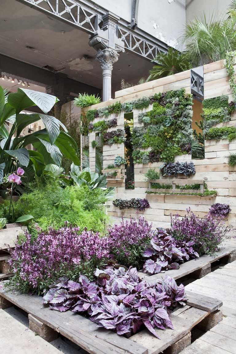 Muebles De Palets Para El Jardin Y La Terraza