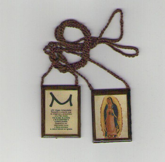 Escapulario de la Virgen de Guadalupe por Tanya Torres