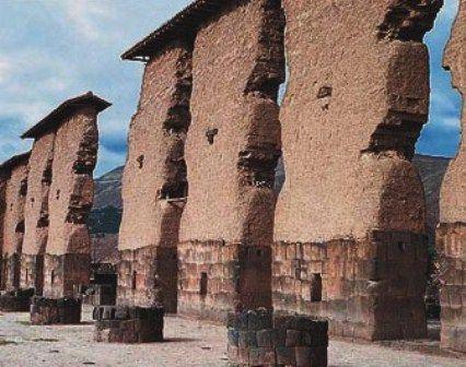 Templo Wiracocha en Raqchi