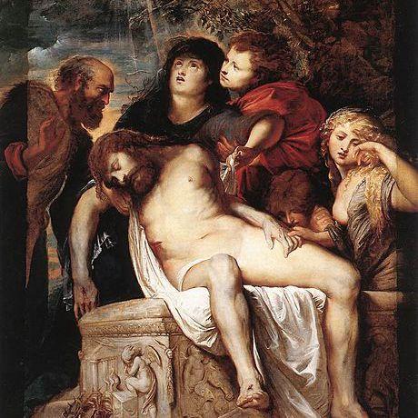 Deposición de Jesús por Pedro Pablo Rubens