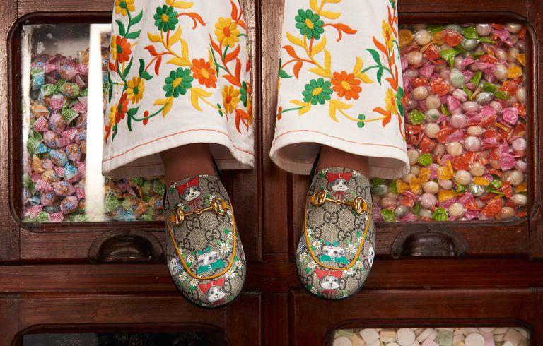 Zapatos Gucci para niñas