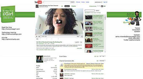 Canal de Youtube de Adria Richards