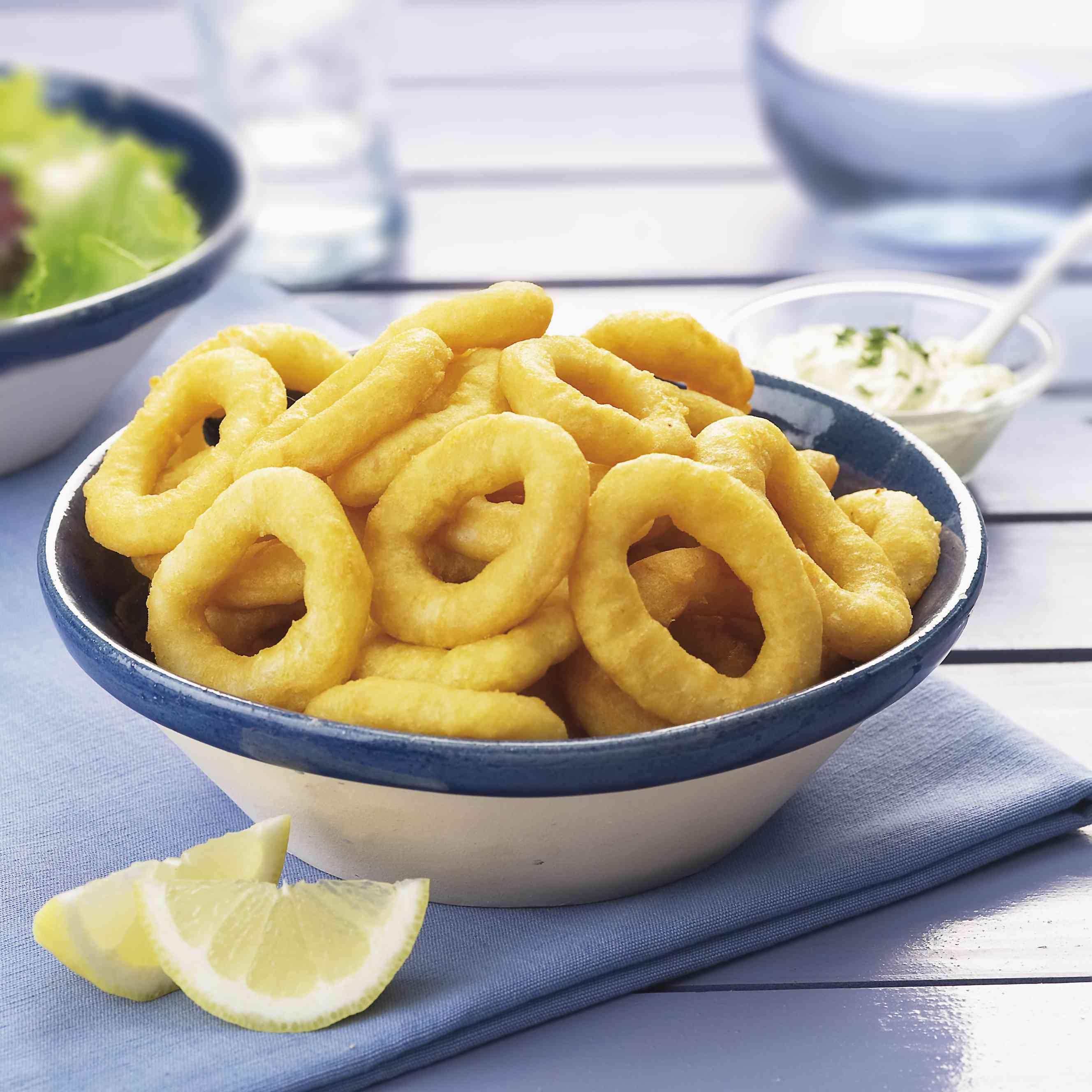 Calamares alimentos malos para el colesterol alto