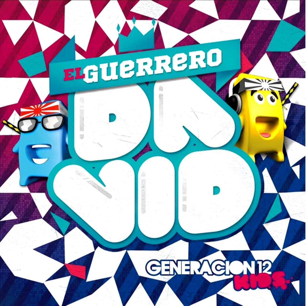 Generación 12 Kids, álbum El guerrero David